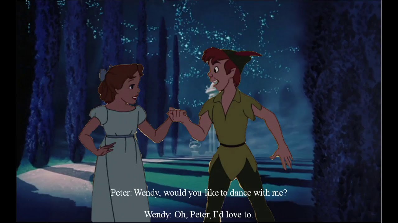Michael Jackson I Just Cant Stop Loving You Peter Pan Wendy