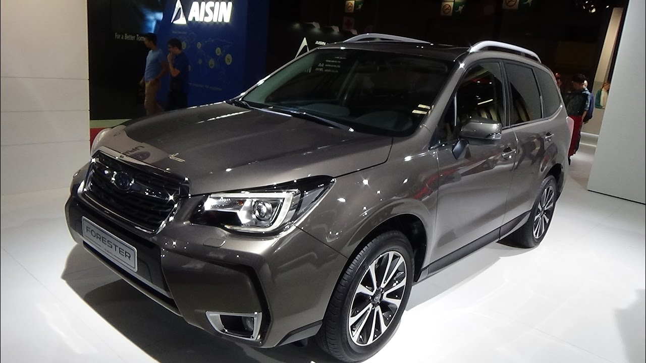 2017 Subaru Forester Exterior And Interior Paris Auto Show 2016