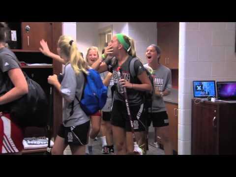 Women's Lacrosse Locker Room Reveal