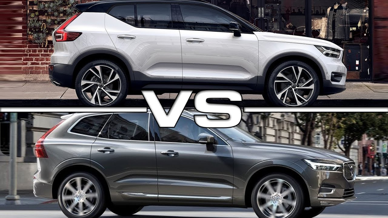2018 Volvo Xc40 Vs 2017 Volvo Xc60 Youtube