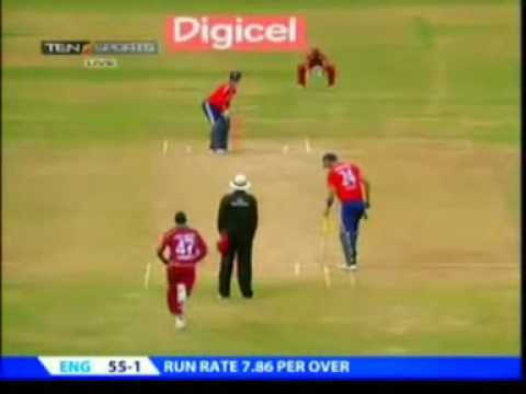 2020 West Indies vs England March 2009 England Innings