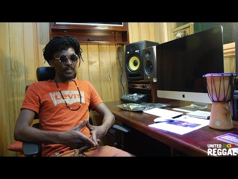 JRS#21 ★ Anthony B - Interview in his Born Fire Studios (Portmore)