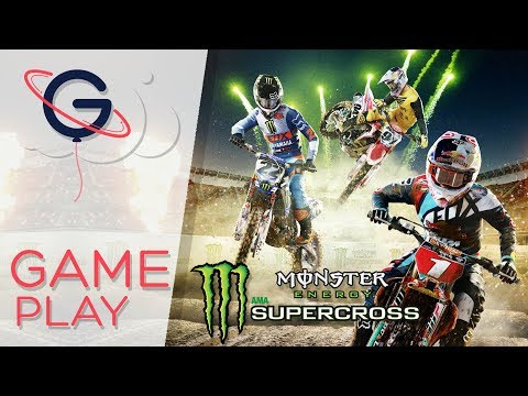 MONSTER ENERGY SUPERCROSS - Course épique en stade !