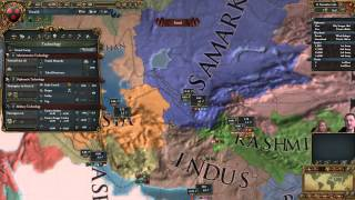 Europa Universalis 4 - Intro for New Players (As Timurids) - 1/3
