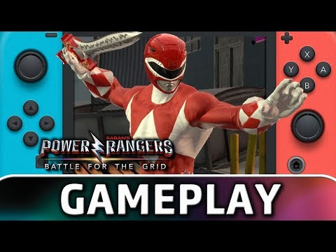 Power Rangers: Battle For The Grid   First 10 Minutes On Switch