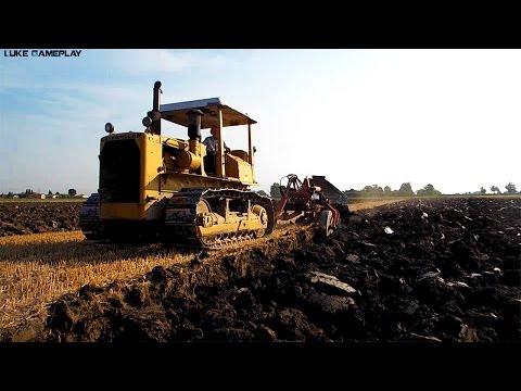 Agricultural-Work Aratura con Caterpillar D6D VHP