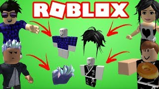 ROBLOX YOUTUBERS ITEMS I INEMAFOO, DUE MARMOTAS, CA'UM8, CELE (LULUCA GAMES)