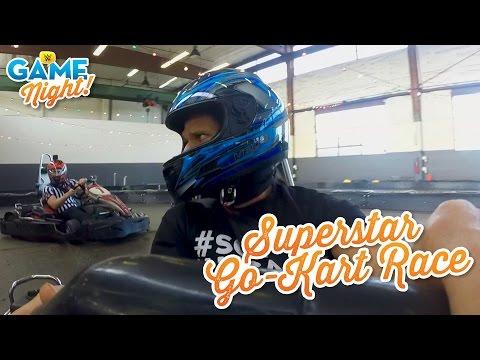 WWE Superstar Go-Kart race: WWE Game Night