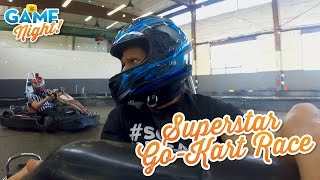 WWE Superstar Go-Kart race: WWE Game Night