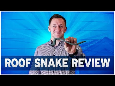 Roof Snake: Best Roofing Tool for DIY Roofing Repairs