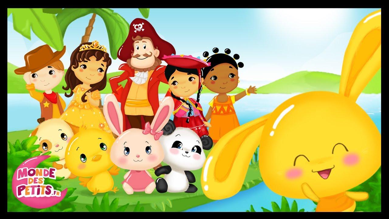 Célèbre 1H de dessins animés - Monde des petits - Titounis - YouTube NO37