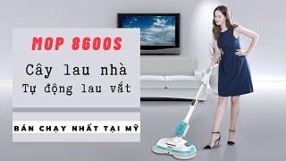 Trên tay cây lau nhà tự động siêu sạch Bobot Mop 8600s