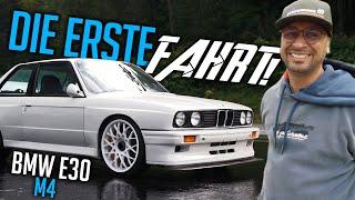 JP Performance - DIE ERSTE FAHRT ! | BMW E30 M4