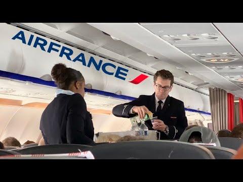 AIR FRANCE A320 ECONOMY Class: AF1624 Paris To Lisbon