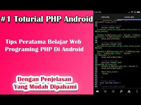 Cara Belajar Php Di Android