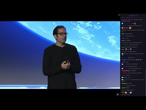 D.I.C.E Summit 2017 | Overwatch | Jeff Kaplan (Stream with chat)