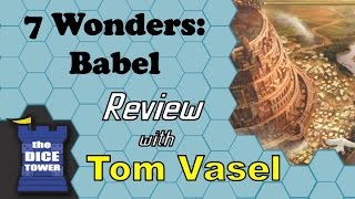 7 Wonders Babel Review - with Tom Vasel