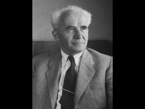 David Ben-Gurion speaking at UCLA 3/8/1967
