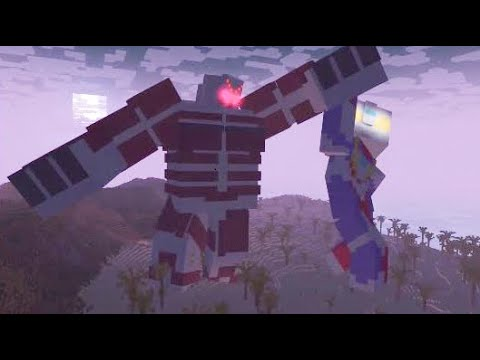 Minecraft Animation: Ultraman Tiga Tragic Vacation