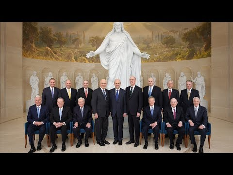 The April 2019 World Report of The Church of Jesus Christ of