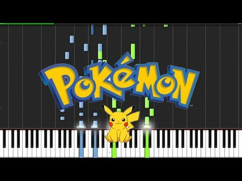 Pokemon Theme Piano Tutorial Chords How To Play Cover Youtube