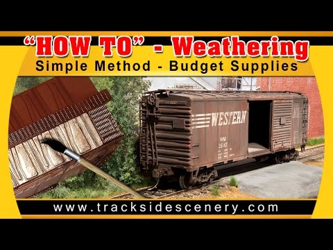 Modelling Railroad Toy Train Track Plans -Terrific Ideas For Model Realistic Weathering – Simple Method and Budget Supplies