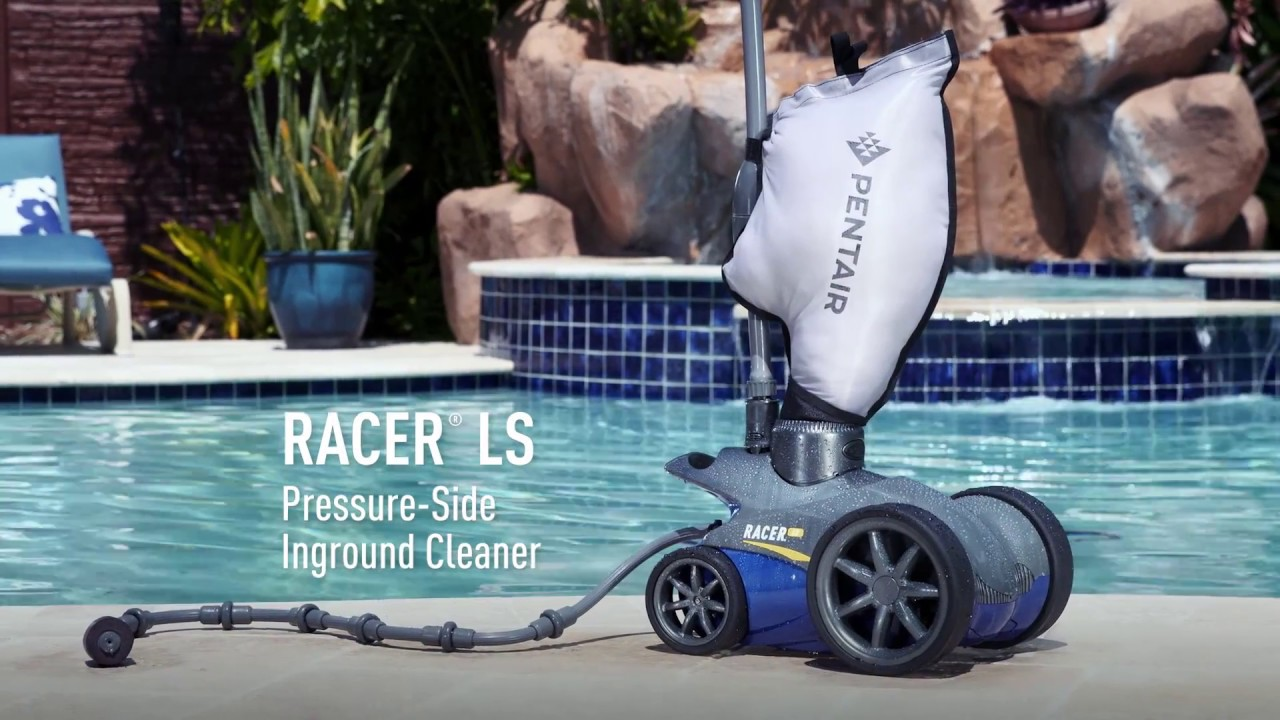Racer 174 Ls Pressure Side Inground Pool Cleaner Youtube
