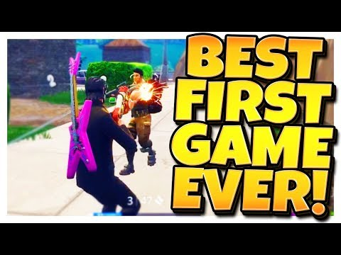 FIRST GAME ON 19 KILLS in FORTNITE: BATTLE ROYALE!