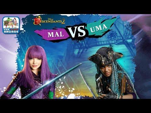 Descendants 2: Mal VS Uma - Mal wants to be the Perfect Auradon Girl (Disney Games)