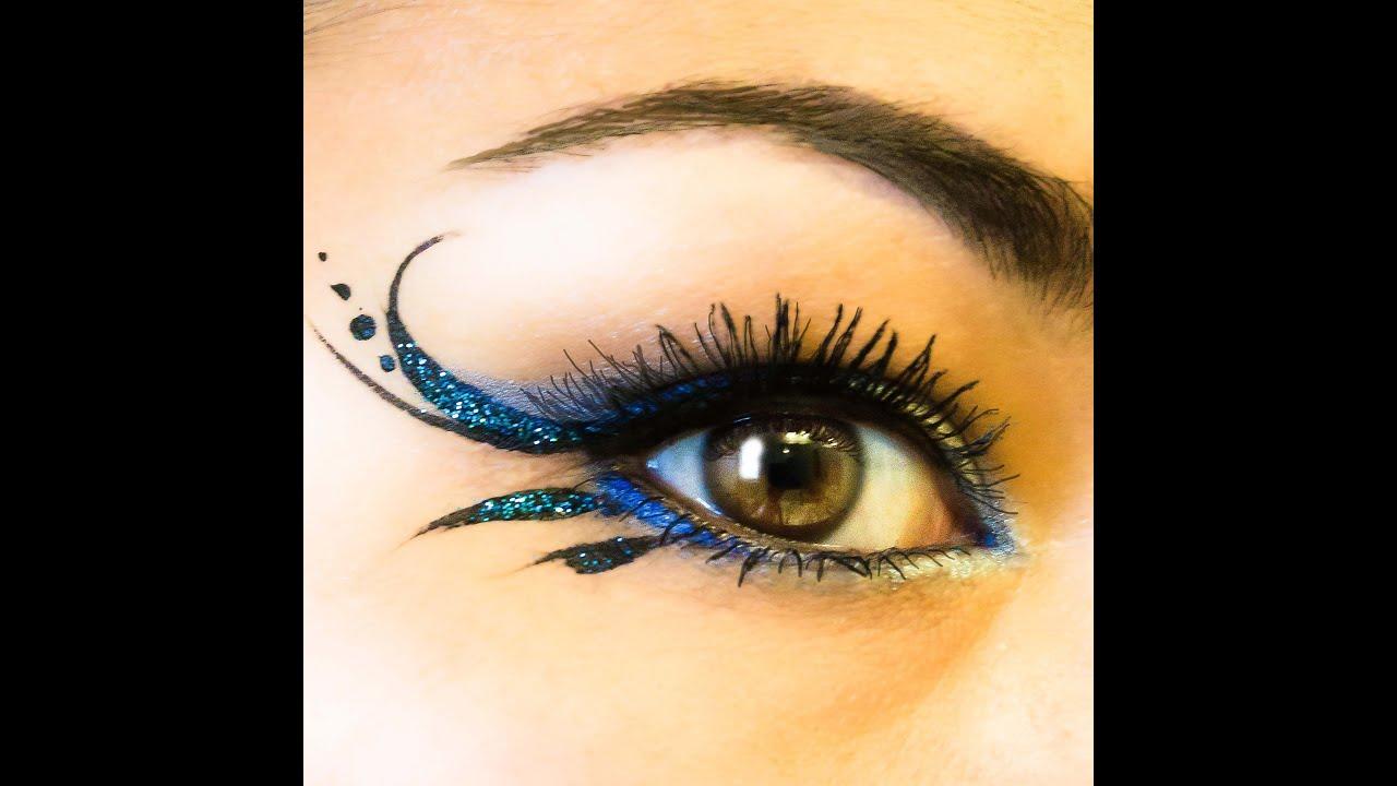 "Glitter Gorgeous Simple Liner & ""blue Irises' Nyx"