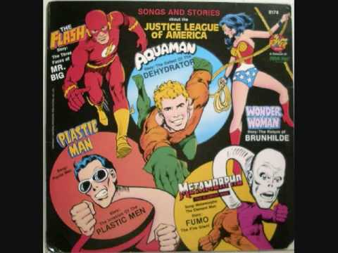 Plastic Man Theme from the Sounds and Stories of the Justice League of America