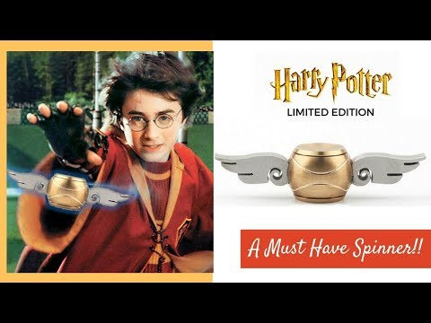 Harry Potter Fidget Spinner India | Unique Golden Quidditch Snitch | Unboxing Review