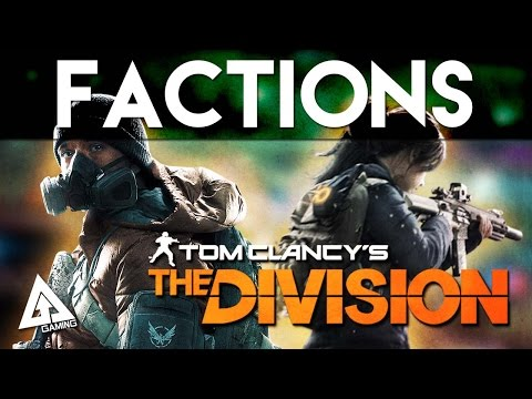 The Division - Factions and The Cleaners