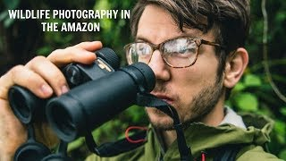 Wildlife Photography behind the scenes - Monkeys in the Amazon