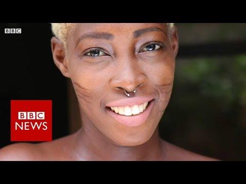 'My tribal marks are my trademark' - BBC News