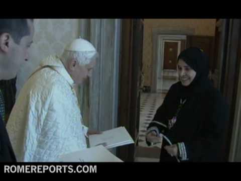 Benedict XVI welcomed first United Arab Emirates ambassador