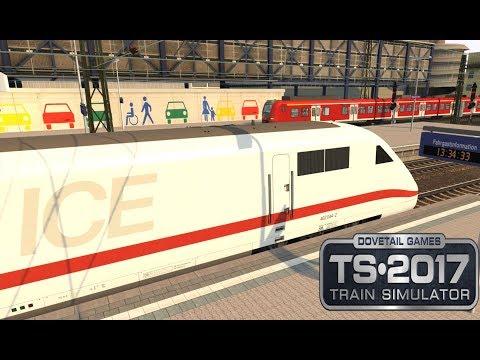 Train Simulator 2017 | ICE2 Mannheim Richtung Basel mit Bordansagen