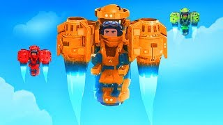 WHO HAS THE BEST JETPACK CHALLENGE!? - Trailmakers