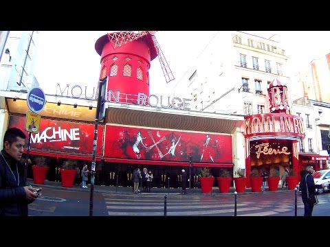EXPLORING PARIS: The Moulin Rouge & Where Amelie Was Filmed
