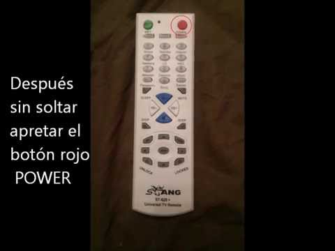 stang universal tv remote manual