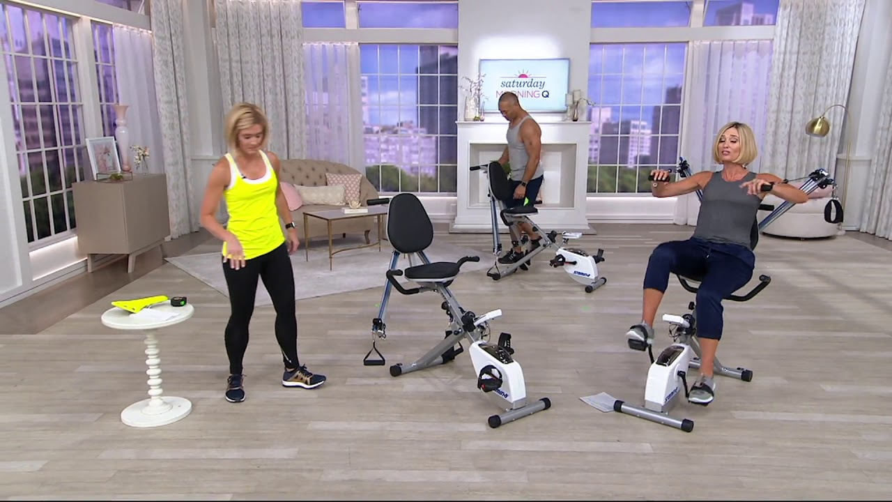 Stamina Exercise Bike And Strength System on QVC