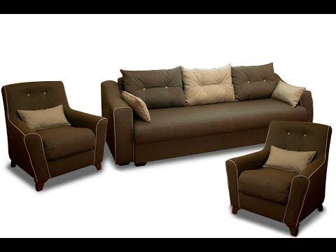 ВидеоОбзор EuroMebel: Комплект мягкой мебели Мальта 1