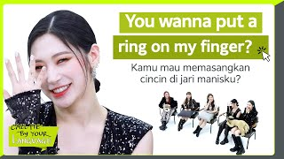 SECRET NUMBER replies to fans in BAHASA INDONESIA | #CBL (CALL ME BY YOUR LANGUAGE)
