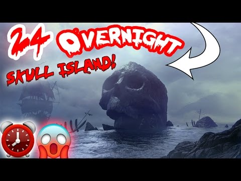 (HIGH SECURITY) 24 HOUR OVERNIGHT CHALLENGE in UNIVERSAL STUDIOS //SNEAKING INTO SKULL ISLAND ⏰