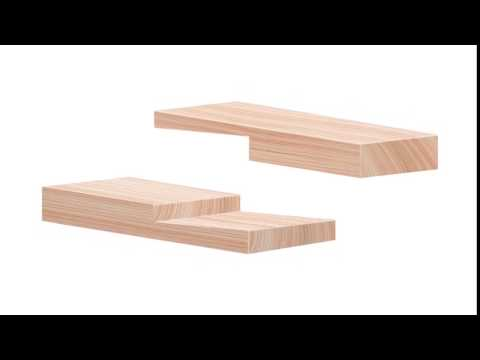 Wood Joinery - Bevel Lap Splice Joint