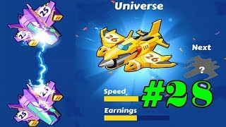 Merge Plane-Click & Idle Tycoon #lv28 #Universe iOS/Android Games/GamePlay_HD