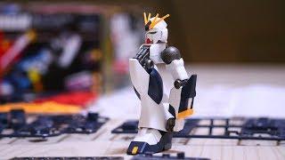 コマ撮りでガンプラ組み立ててみた。 Gunpla Stop Motion Assembly | RX-93 ν Gundam thumbnail