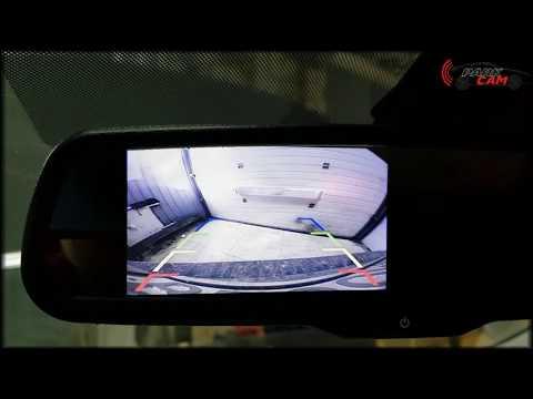 Камера заднего вида для Hyundai Solaris 2019 (Хендэ Солярис) и монитор-зеркало взамен штатного