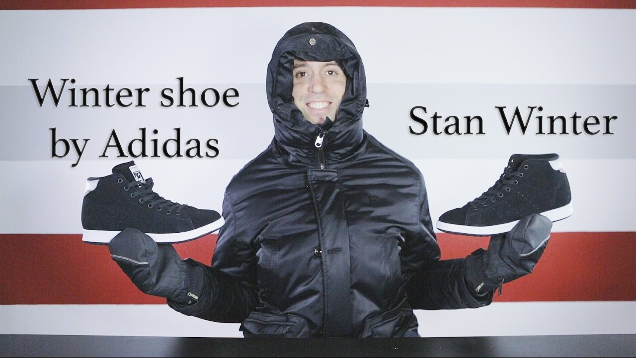 new products c0673 1a0fd Adidas Stan Winter - Unboxing - Review - On feet - Close up - Mr Stoltz 2016