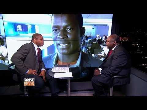 Henry Gombya on Africa Wrap